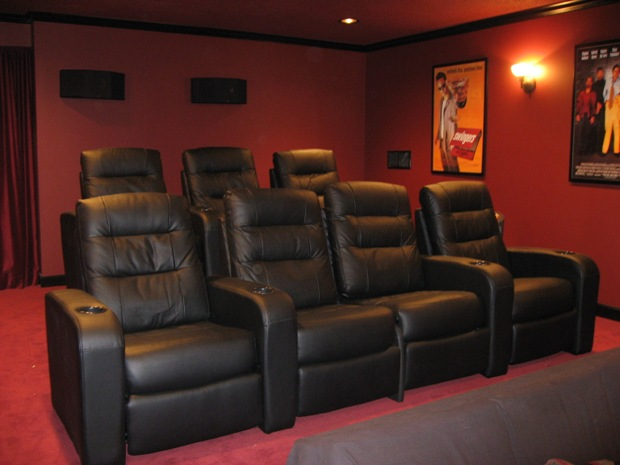 home movie theater chairs images